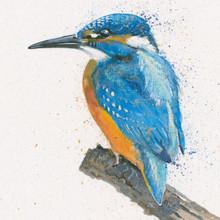 Hand embellished artwork by Kay Johns
