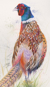 Pheasant limited edition painting by Kay Johns