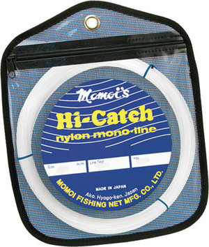 Hi-Catch Mono Leader 400lb X-Hard Clear 100yd