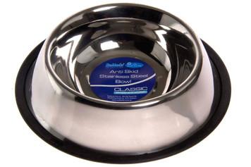 Anti Skid Stainless Steel Dog Bowl - 24oz