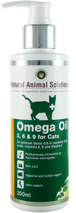 Omega 3, 6 & 9 Oil for Cats - 6.7 oz (200ml)