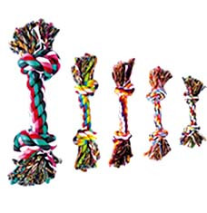 Rope Bone Dog Toy - 14 Inch