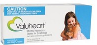 Valuheart for Small Dogs up to 22 lbs (up to 10 kgs) - 6 Pack - Blue