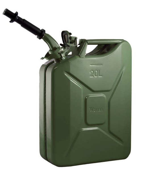 Jerry Can 20L GREEN EPA/CARB-DOT-OSHA APPROVED