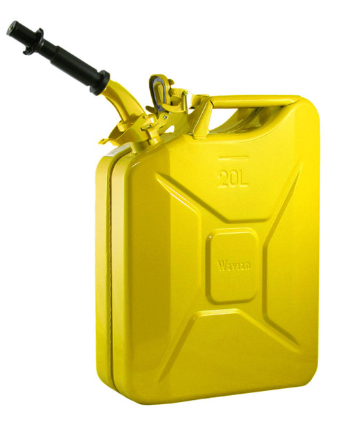 Jerry Can 20L Yellow EPA/CARB-DOT-OSHA APPROVED