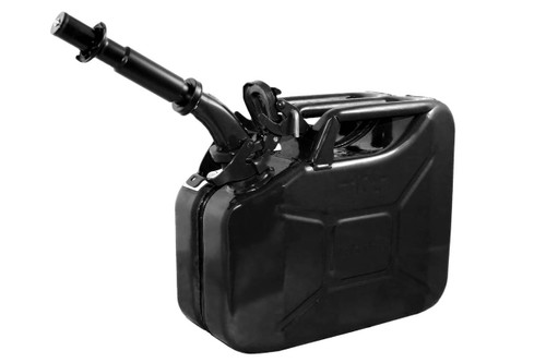 Jerry Can 10L BLACK EPA/CARB-DOT-OSHA APPROVED