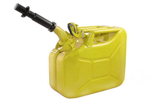 Jerry Can 10L YELLOW EPA/CARB-DOT-OSHA APPROVED