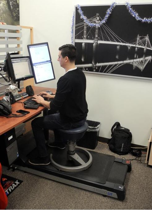 How To Configure a Treadmill Desk w Limited Space Human Solution – Treadmill Desk Chair