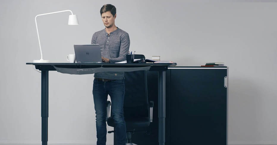 Ikea Bekant Sit Stand Desk Review Human Solution