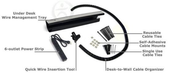 UPLIFT Advanced Wire Management Kit