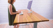 Reclaimed Wood Teak Desk