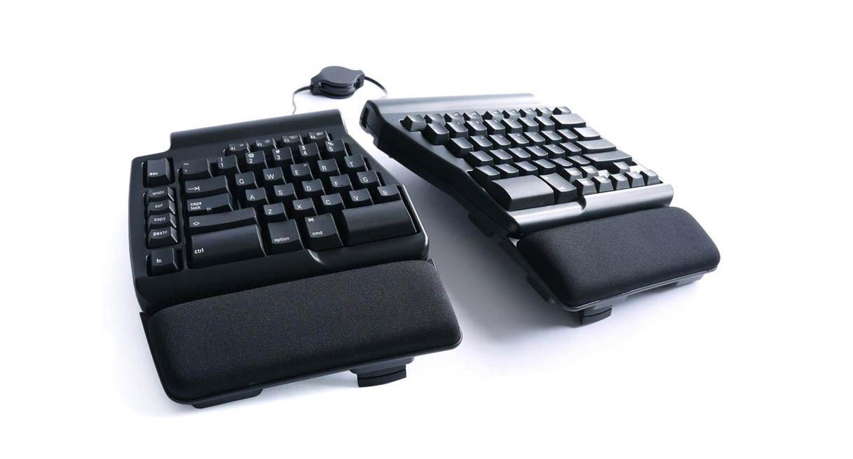 Features premium Matias Quiet Click mechanical switches