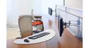 The Knoll Surfboard VDT Corner  is easily adjusted to fit any angle and can be removed