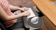 Enjoy a comfier typing experience on the UPLIFT Large Keyboard Tray