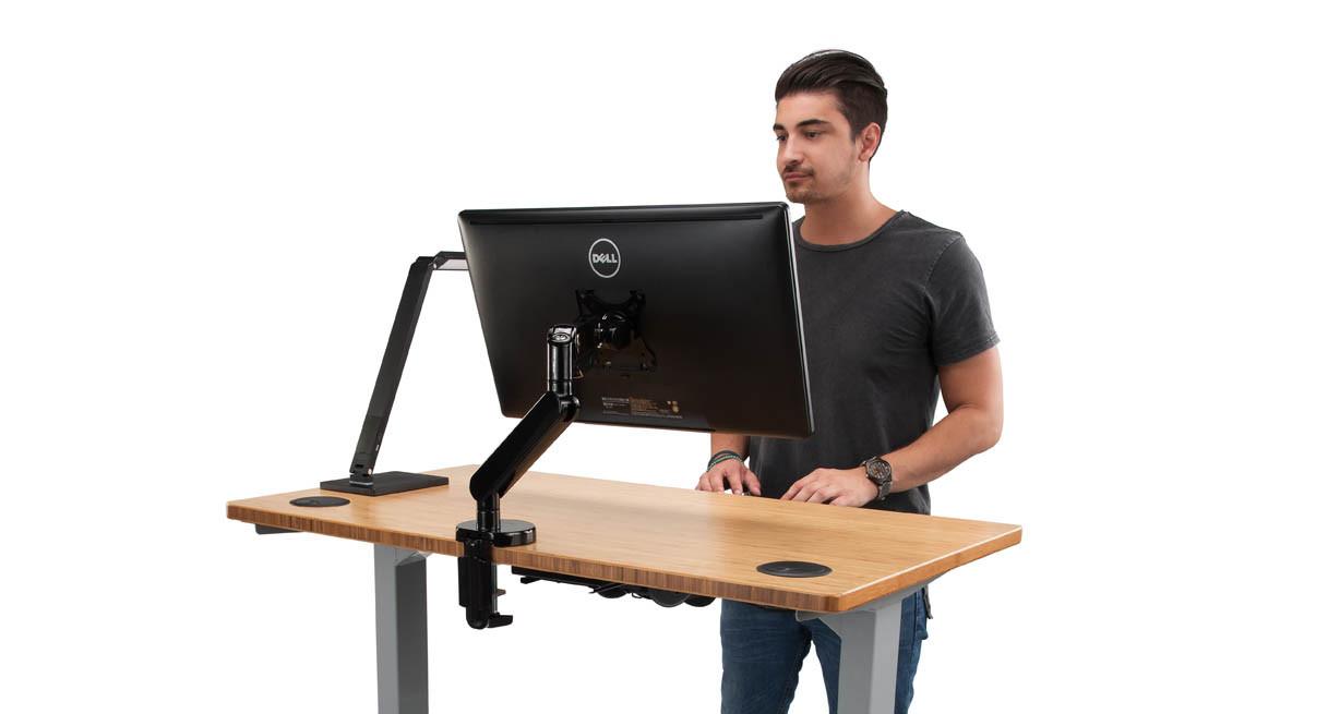 Shop Uplift Space Saver Standing Desks At Human Solution