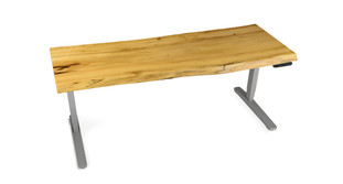 Get the raw, rustic look of Texas with the UPLIFT Cottonwood Modern Artisan Desk