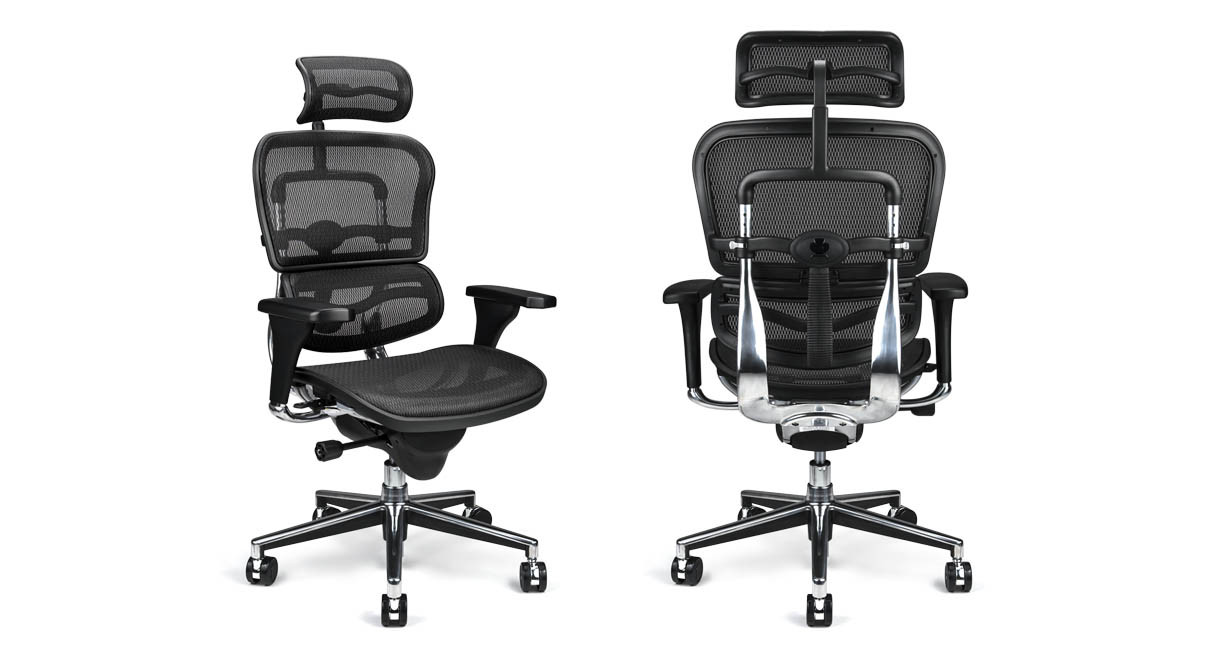 Raynor Ergohuman Chair ME7ERGMesh with Headrest