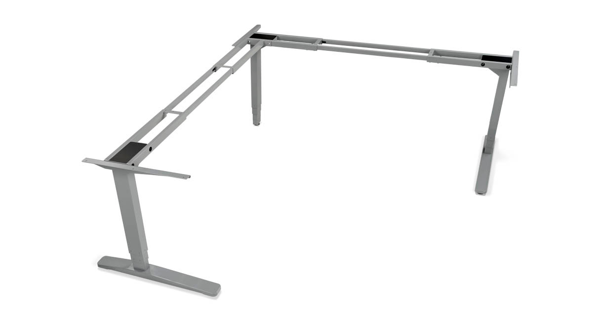 Gives your desk more stability or allows for an L-shaped desk configuration
