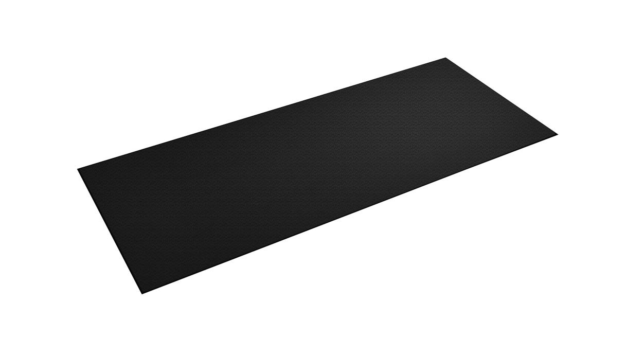 The UPLIFT Treadmill Mat is a crucial addition to your workstation if you use a desk treadmill, protecting your machine and floor at the same time