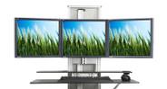 100 lb lifting capacity supports extra large monitors