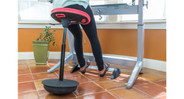 Excellent center-of-gravity stability on the Focal Pivot Seat