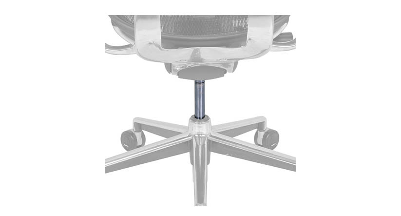 The Raynor Ergohuman Cylinder is available as a replacement part for any Raynor Ergohuman chair