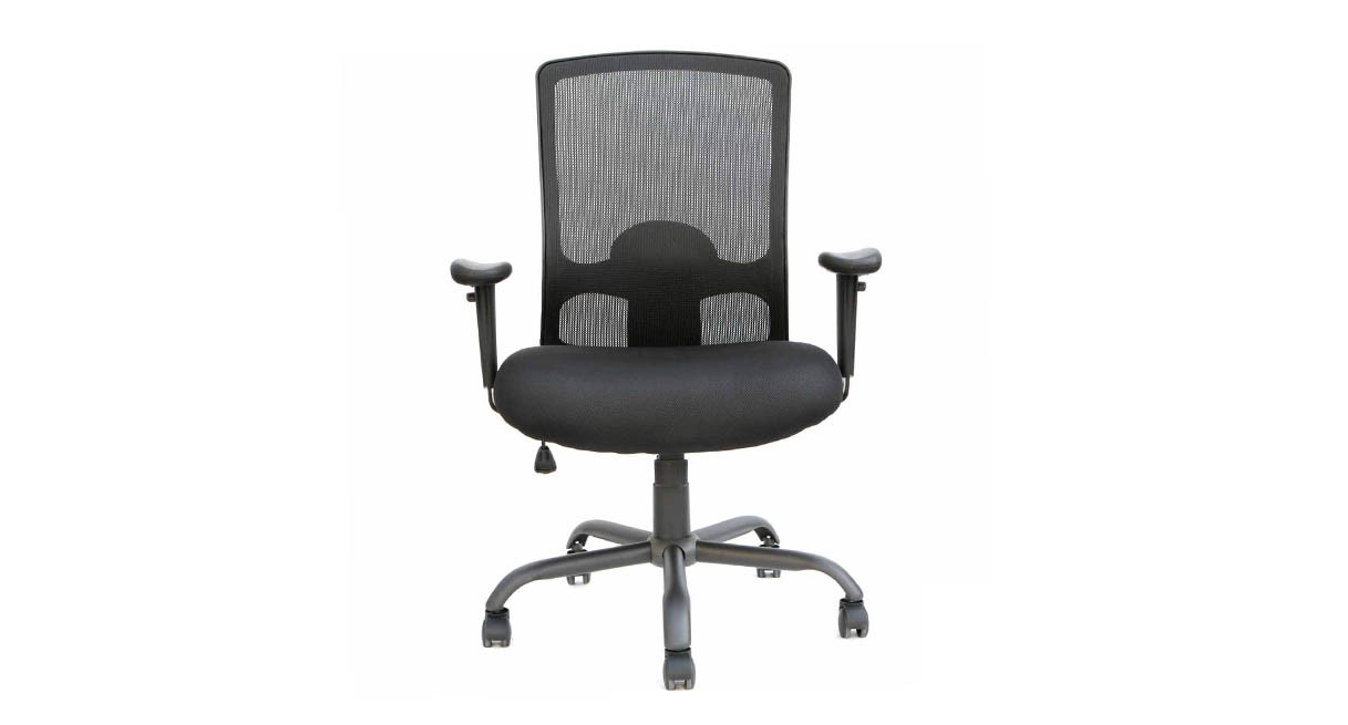 Office chairs for big and tall - Tilt Tension Control With Tilt Lock Adapts The Rate Of Recline To Your Weight