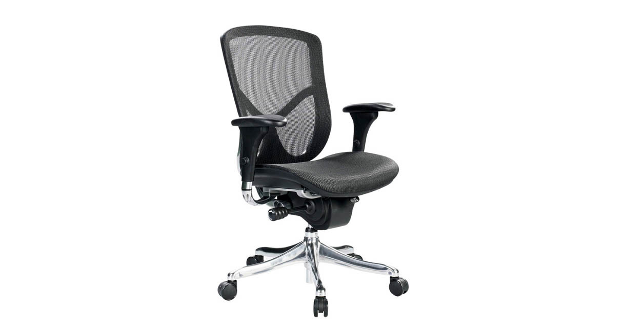 Synchro-tilt with tilt lock so you can lock your seat in a position that's ideal for you