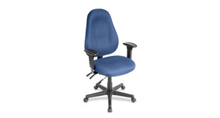 Tilt lock locks in positions that support your ideal postures