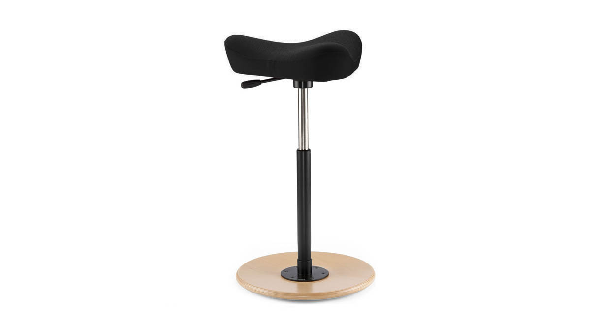 Standing support that allows a full 360° range of motion