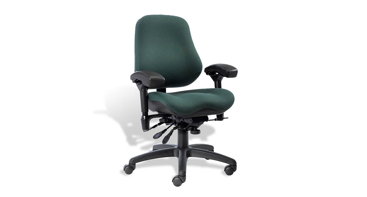 Executive chair high back - High Back Design 22 H X 21 1 2 W Provides Excellent Support