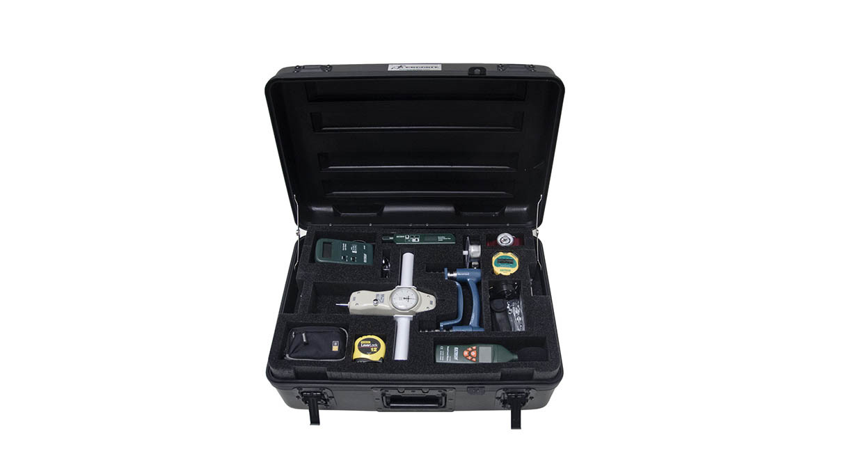 Over 20 ergonomic assessment tools included in the kit