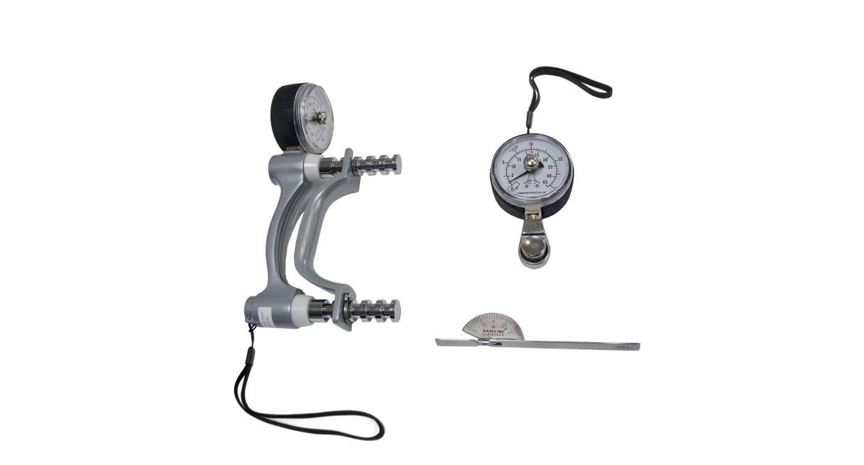 200 lb. hydraulic hand dynamometer