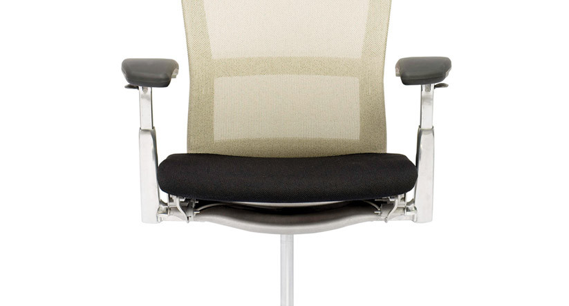 "3/4"" thick foam delivers additional support and comfort with the Knoll Life Chair Seat Topper"