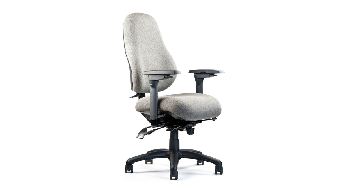 five seat options in several shapes and sizes - Ergonomic Chair