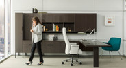 Attractive and has a design element not seen in most task chairs