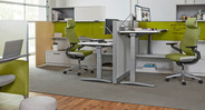 The Steelcase Gesture Chair with Headrest is the solution to suboptimal office seating
