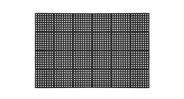 Mat has squared edges