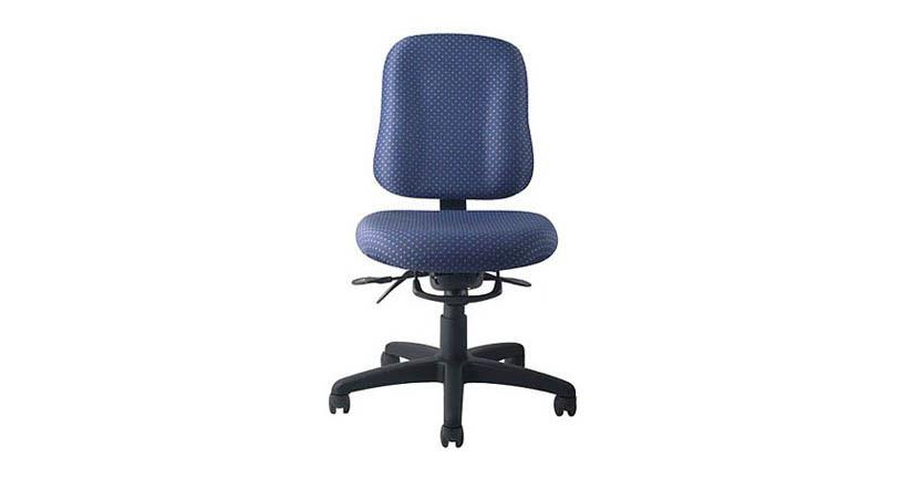 Tilting backrest