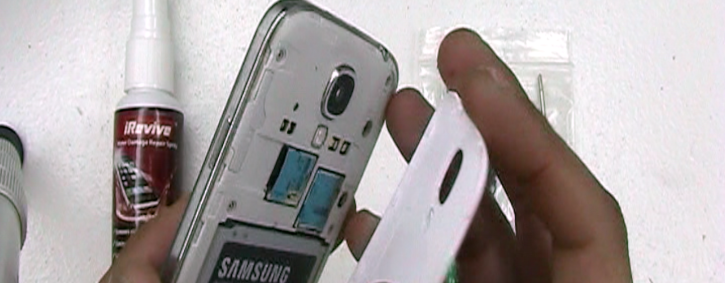 How to fix a wet galaxy s4 repair