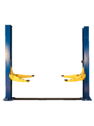 New 2 Post Hoist Precision Automotive Equipment 11,000 lb Base Plate Two 11K Lift