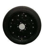"New 25"" Tall Rib Mower Tire on 5x5.50 Rim NHS Foam Filled 25x7.00-18 Batwing Bush Hog Shredder"