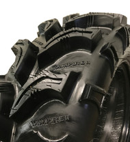 New Tire 25 8.00 12 Interco Super Swamper Vampire II 2 ATV 38/32 Tread Depth 25x8.00x12