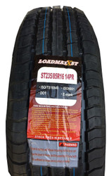 New Tire 235 85 16 Loadmaxx 14 Ply ST Trailer Steel Belted Radial 125L LRG  ST235/85R16