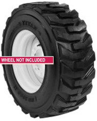 New Tire 12 16.5 Titan HD 2000 Skid Steer R4 10 Ply TL Bobcat 12x16.5 NTJ