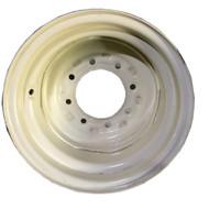 16 Rim 16x10 8Bolt White Implement Wheel