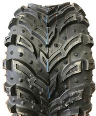 New Tire 25 10.00 12 Deestone Mud Crusher 6ply ATV 25x10-12
