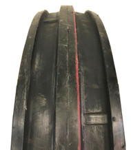 New Tire 7.50 16 Super Strong 3 Rib 6 Ply Tubeless F-2 7.50x16 Tractor Front