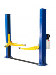 New 2 Post Hoist Precision Automotive Equipment 9,000 lb Floor Plate 9K Lift