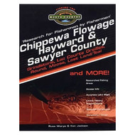 Chippewa Flowage, Hayward & Sawyer County Region Lake Map Book